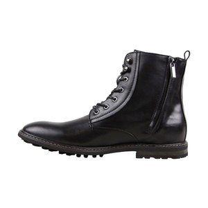 Robert Wayne Thatcher Black Lace Up Combat Boots